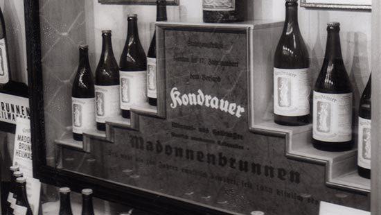 Warenpräsentation | Kondrauer Mineral- und Heilbrunnen