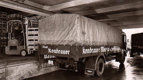 Verladung | Kondrauer Mineral- und Heilbrunnen