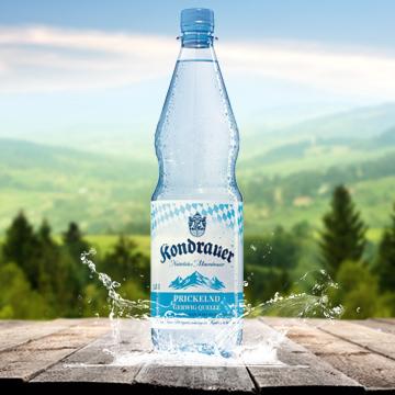 Kondrauer Mineralwasser Prickelnd | Kondrauer Mineral- und Heilbrunnen