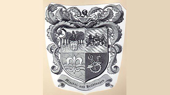 Wappen | Kondrauer Mineral- und Heilbrunnen