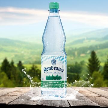 Kondrauer Mineralwasser Medium | Kondrauer Mineral- und Heilbrunnen