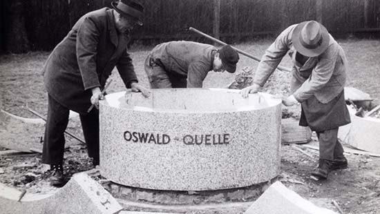 Bohrung Oswald Quelle | Kondrauer Mineral- und Heilbrunnen