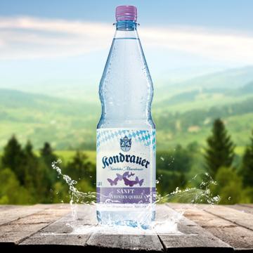 Kondrauer Mineralwasser Sanft | Kondrauer Mineral- und Heilbrunnen