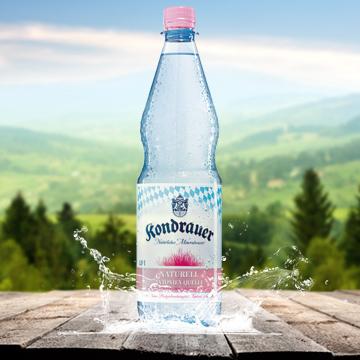 Kondrauer Mineralwasser Naturell | Kondrauer Mineral- und Heilbrunnen