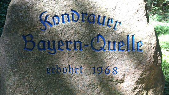 Bayern-Quelle der Kondrauer Mineral- und Heilbrunnen GmbH & Co. KG