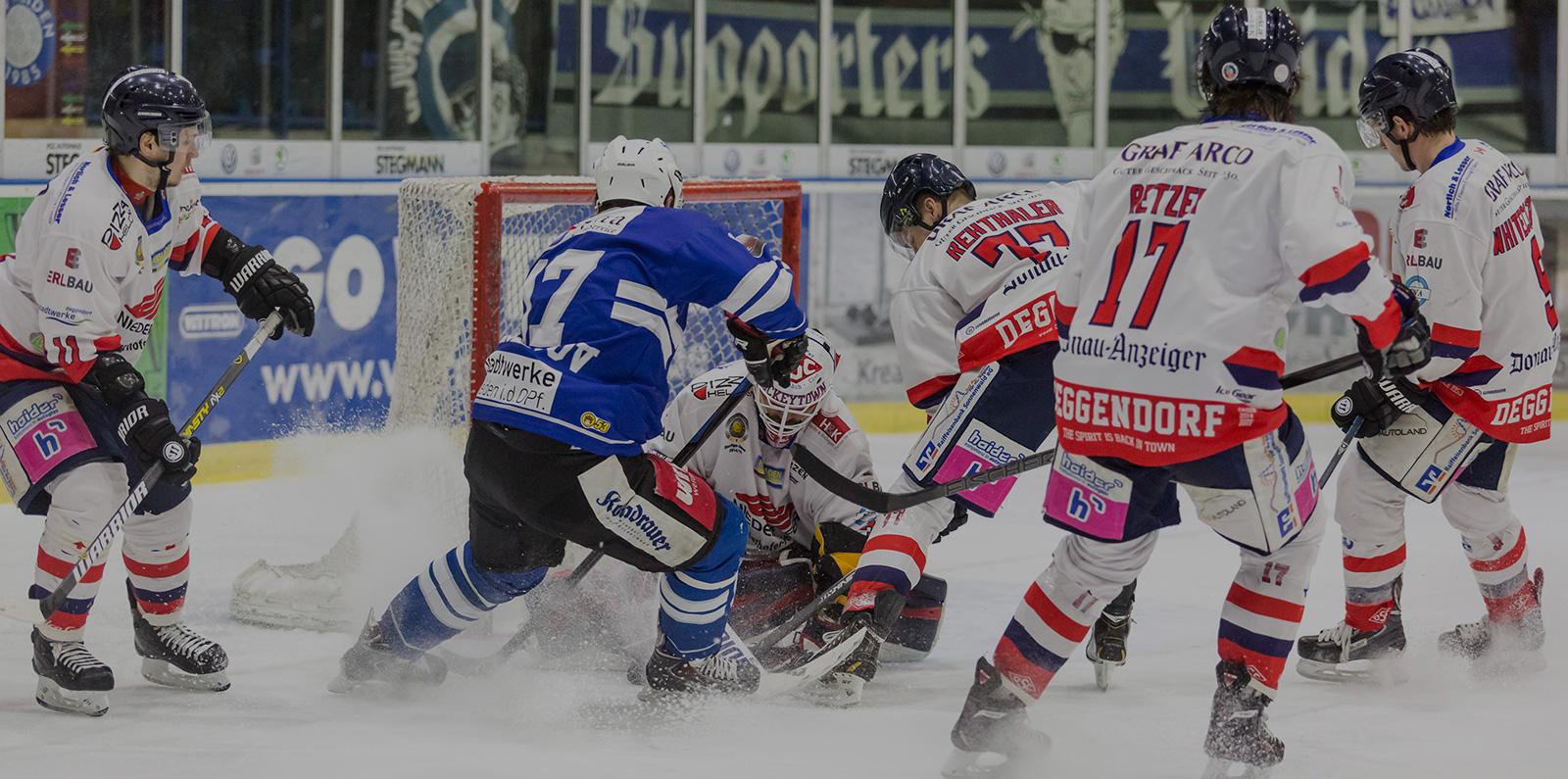 Eishockeyspiel 1. EV Weiden 1985 Blue Devils | Kondrauer Mineral- und Heilbrunnen