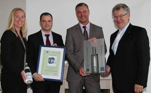 Innovationspreis Deutsche Umwelthilfe 2011 | Kondrauer Mineral- und Heilbrunnen