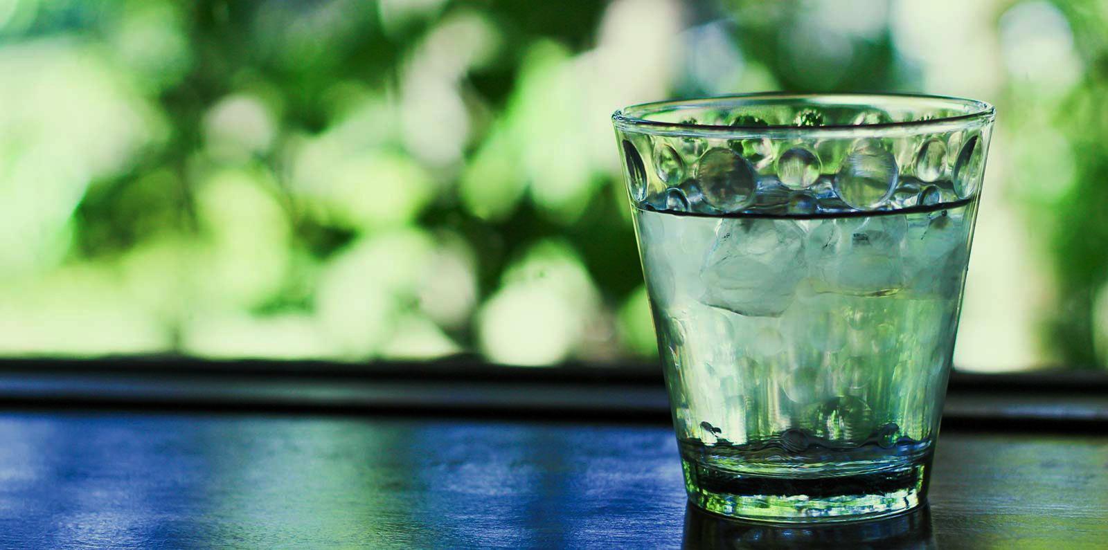Wasserglas | Kondrauer Mineral- und Heilbrunnen