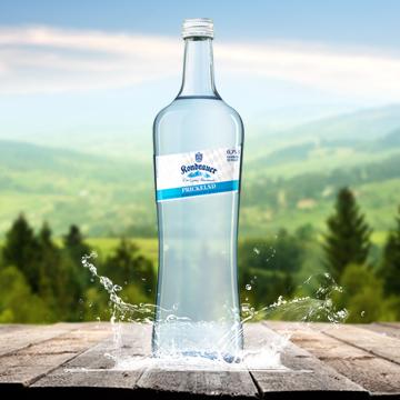 Flasche Mineralwasser Prickelnd Gastro   Kondrauer Mineral- und Heilbrunnen