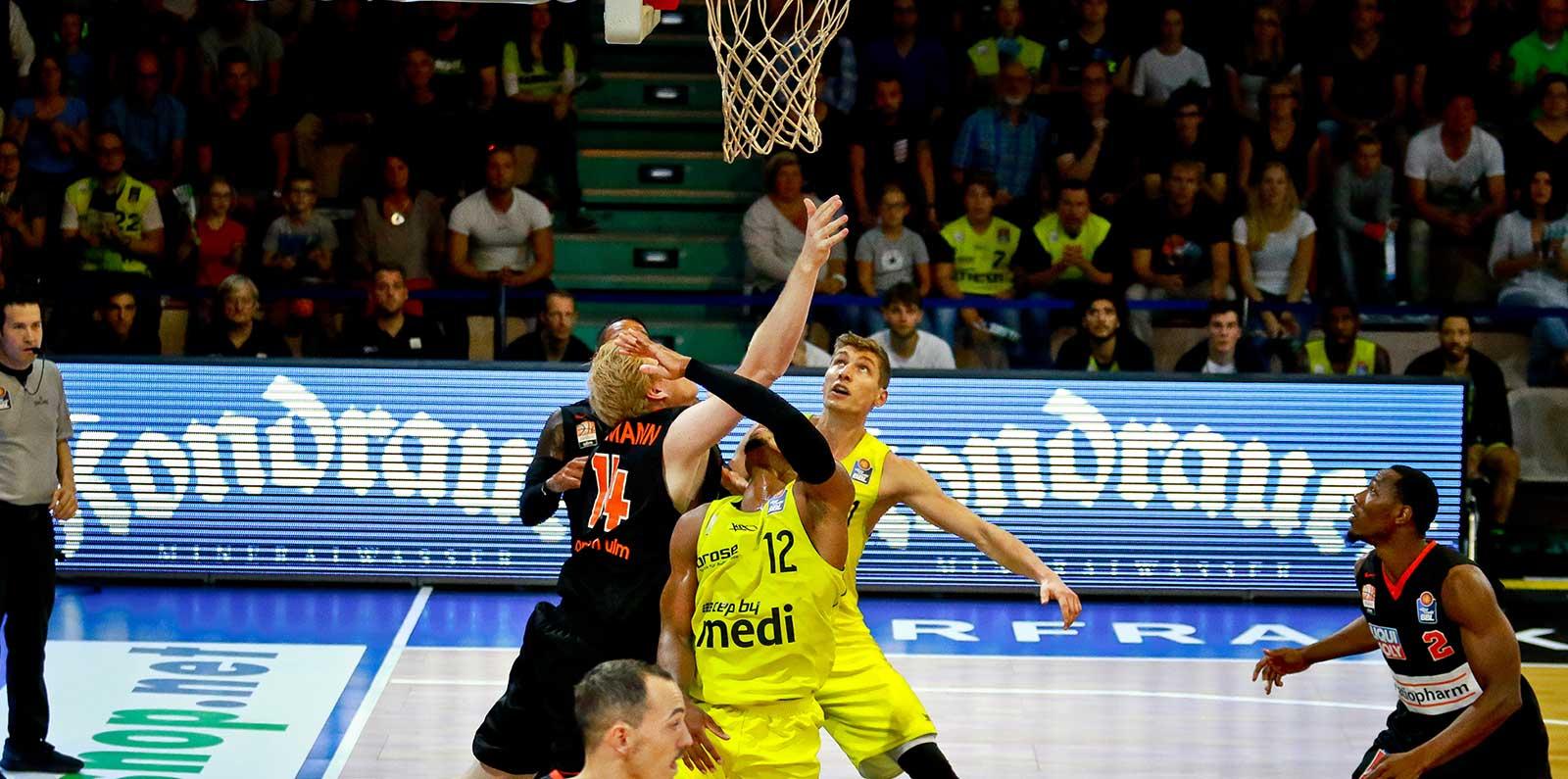 Basketballspiel medi bayreuth easyCredit BBL | Kondrauer Mineral- und Heilbrunnen