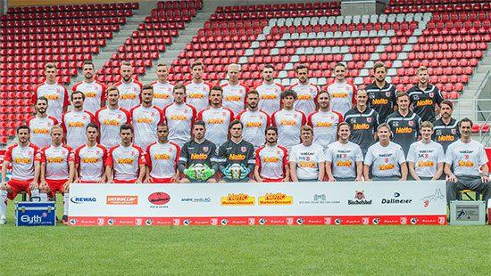 Fußballmannschaft SSV Jahn Regensburg