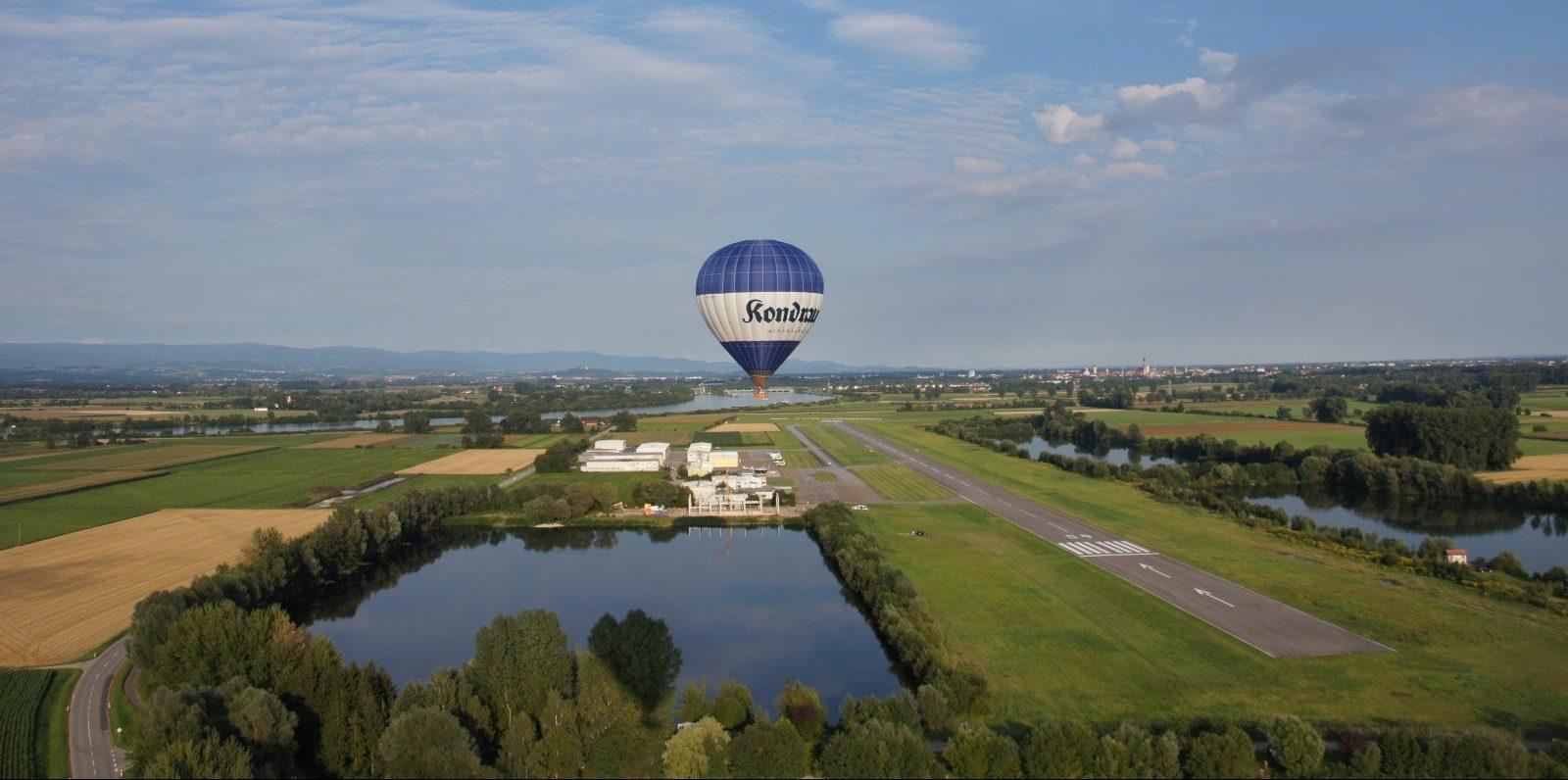 Heißluftballon Flugzentrum Bayerwald