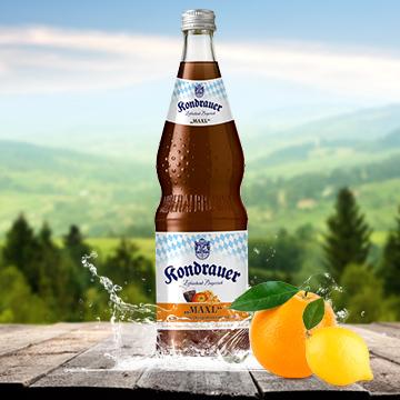 Flasche Limonade Cola MAXL | Kondrauer Mineral- und Heilbrunnen