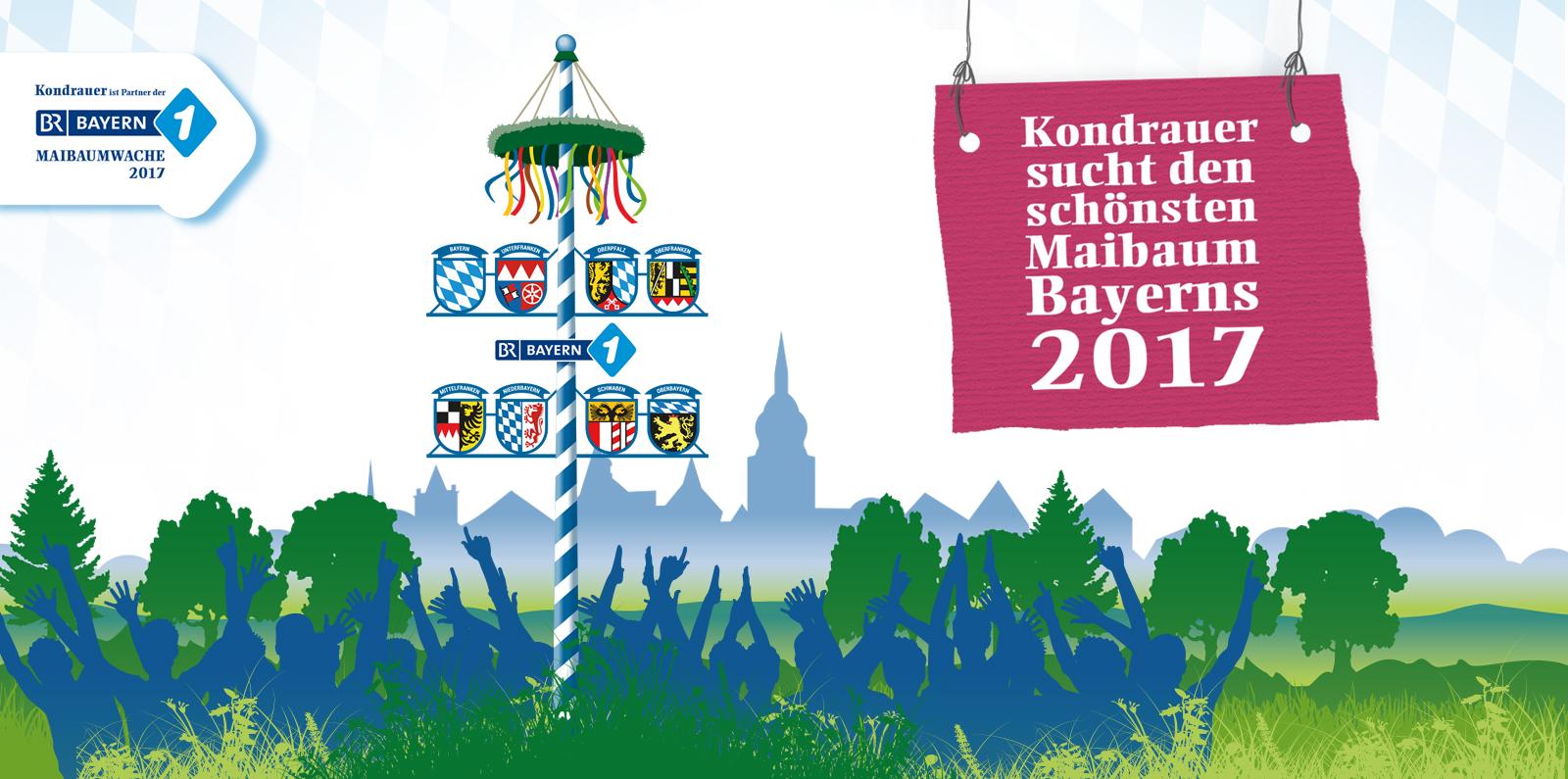 Kondrauer sucht den schönsten Maibaum Bayerns 2017 | Kondrauer Mineral- und Heilbrunnen