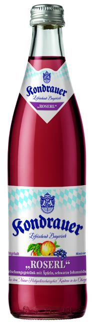 "Apfel-Schwarze-Johannisbeere-Schorle ""ROSERL"" 0,5 l NRW-Mehrwegflasche"