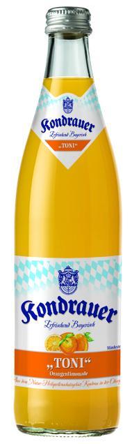 "Kondrauer ORANGE ""TONI"" 0,5 l NRW-Mehrwegflasche"