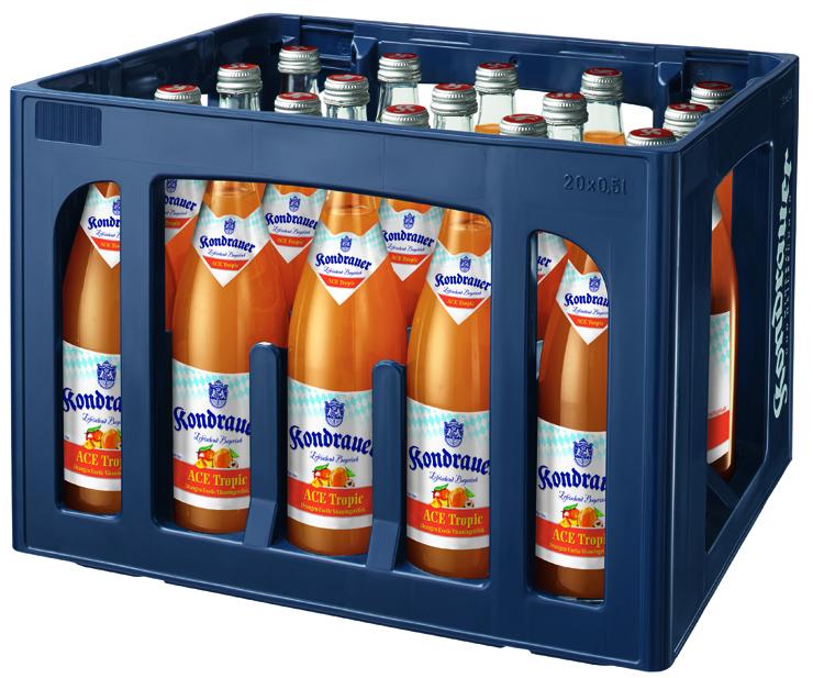 Kondrauer ACE Tropic 0,5 l NRW-Mehrwegflasche (Kasten)