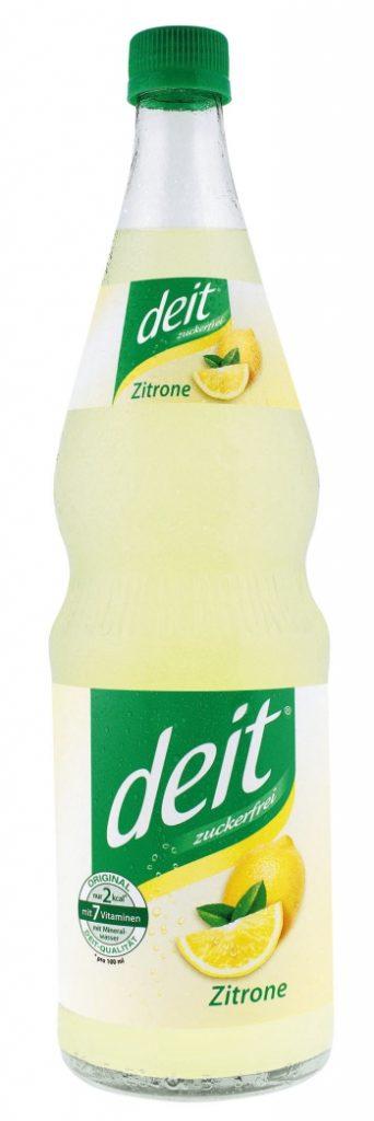 deit® ZITRONE 0,7 l Glas-Mehrwegflasche