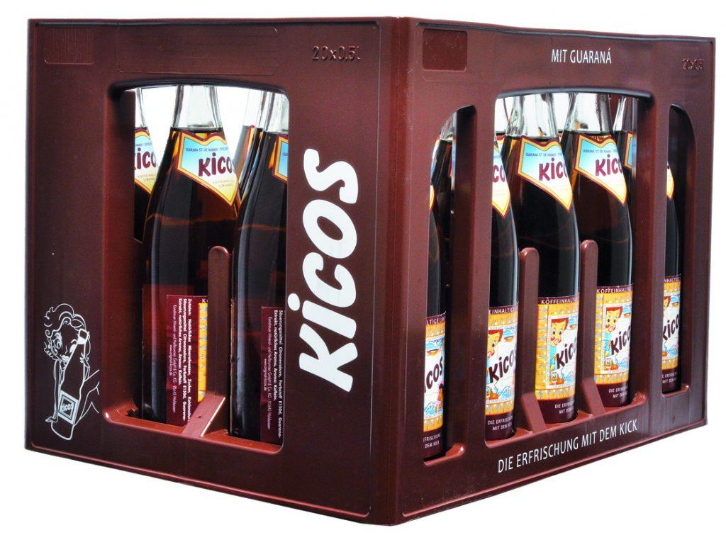 KiCOS 0,5 l NRW-Mehrwegflasche (Kasten)