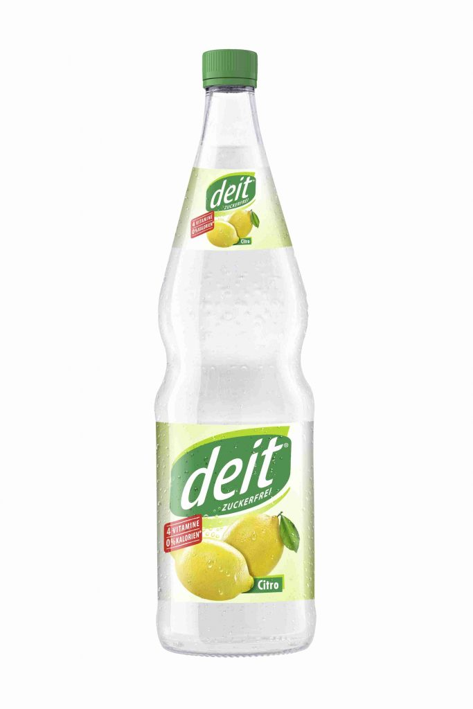 DEIT CITRO 0,7 l Glas-Mehrwegflasche