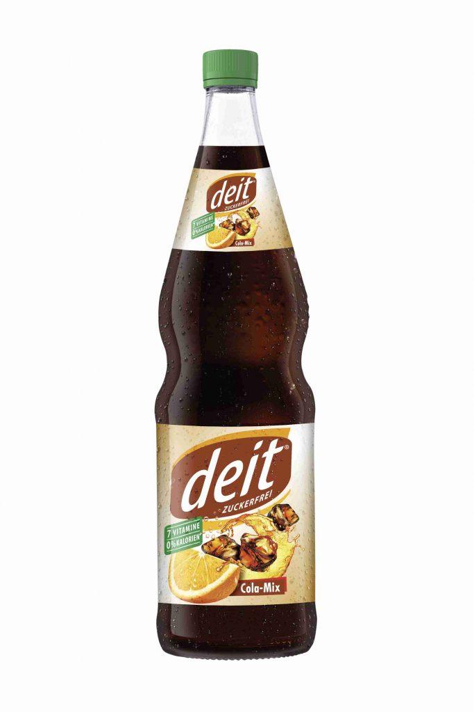 DEIT COLA-MIX 0,7 l Glas-Mehrwegflasche