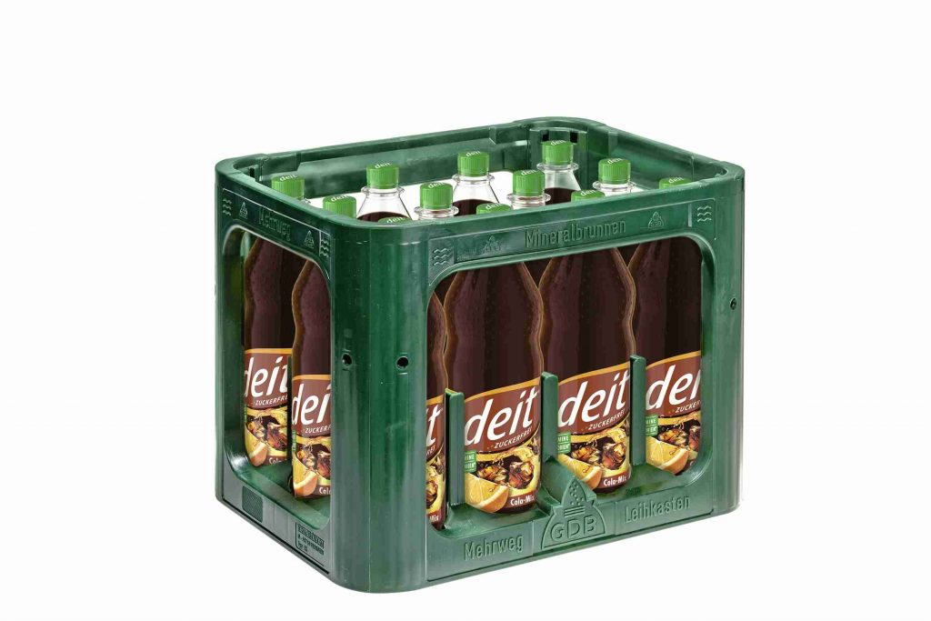 DEIT COLA-MIX 1,0 l PET (Kasten)