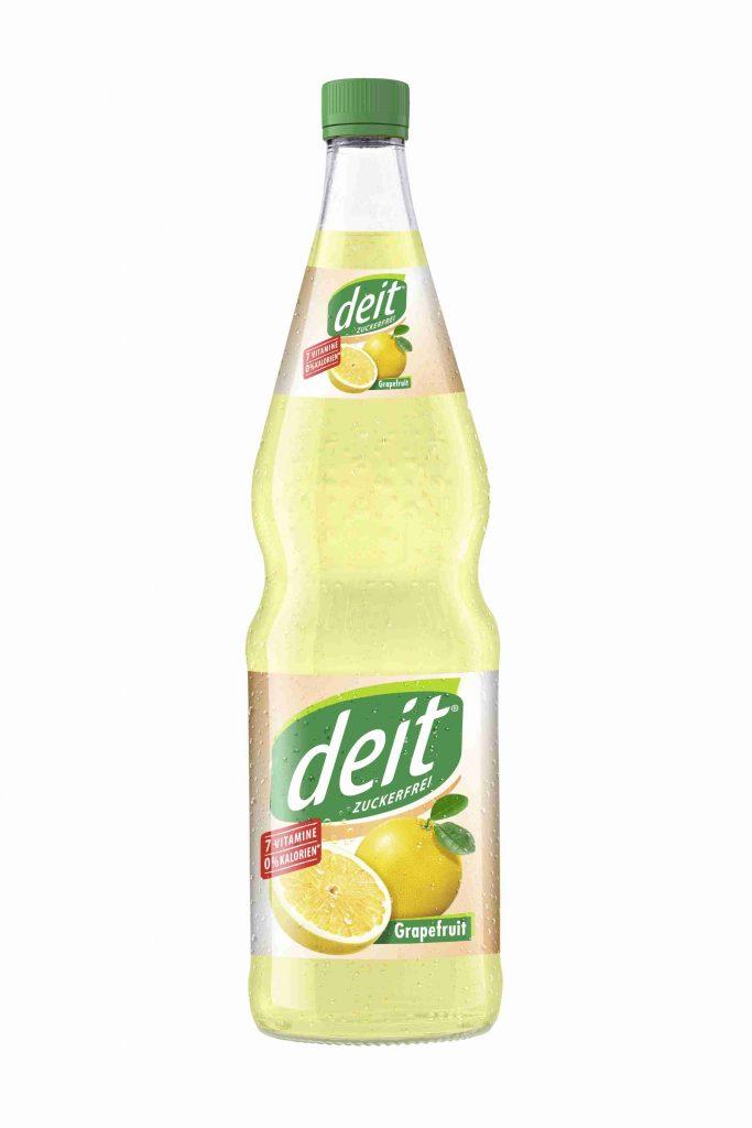 DEIT GRAPEFRUIT 0,7 l Glas-Mehrwegflasche