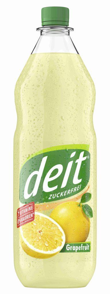 DEIT GRAPEFRUIT 1,0 l PET-Mehrwegflasche