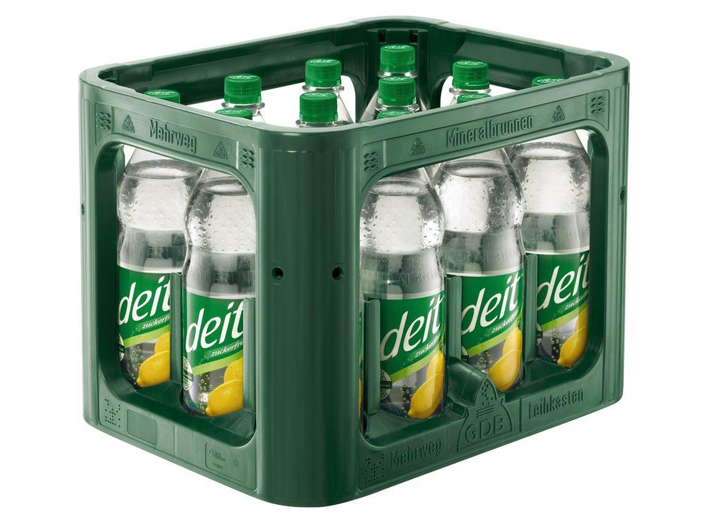 deit® CITRO 1,0 l PET-Mehrwegflasche (Kasten)