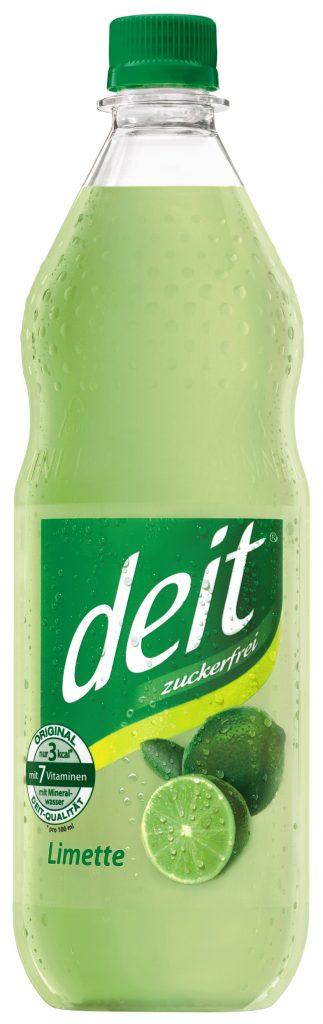 deit® LIMETTE 1,0 l PET-Mehrwegflasche