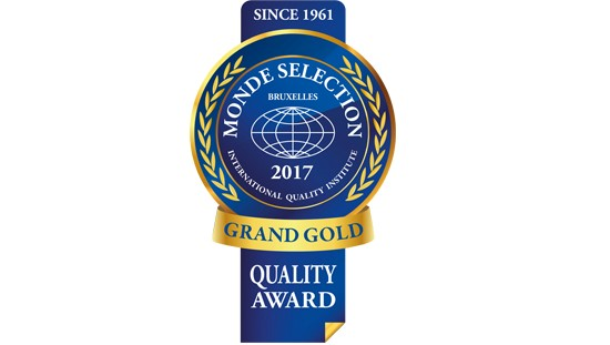 Monde Selection Grande Gold 2017