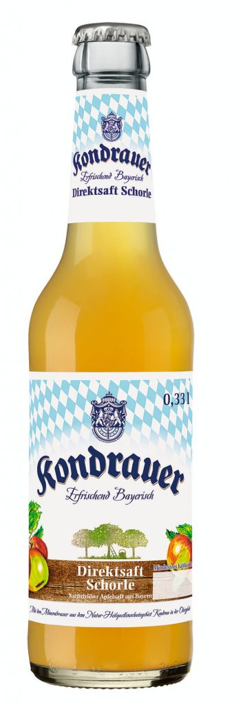 01_Kondrauer_Direktsaft Schorle Naturtrüber Apfelsaft_0,33l