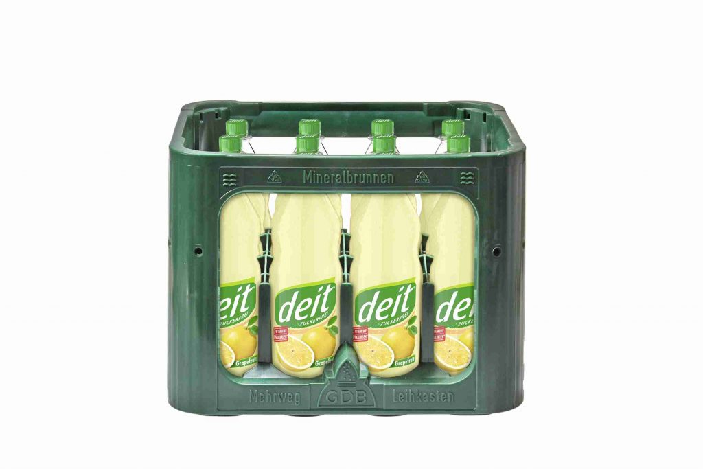 DEIT GRAPEFRUIT 1,0 l PET (Kasten)