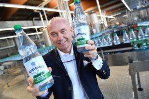 Ralf Brodnicki, Geschäftsführer Kondrauer Mineralbrunnen © Florian Miedl