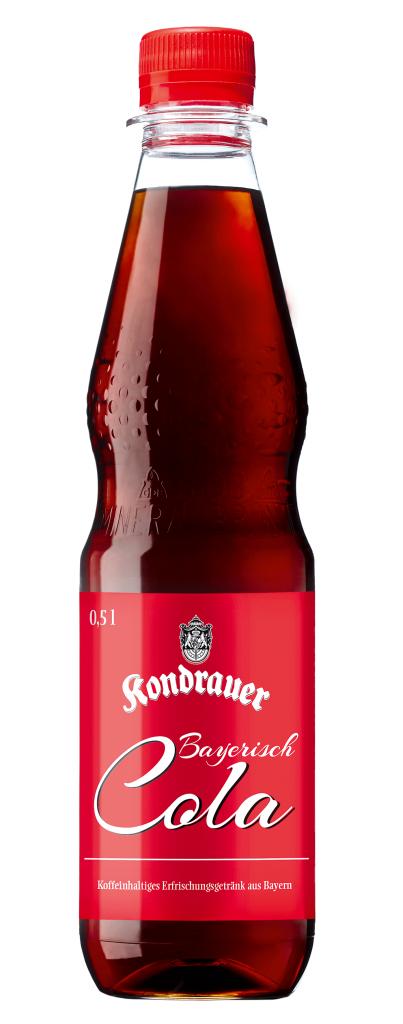 Kondrauer Bayerisch Cola 0,5 l PET