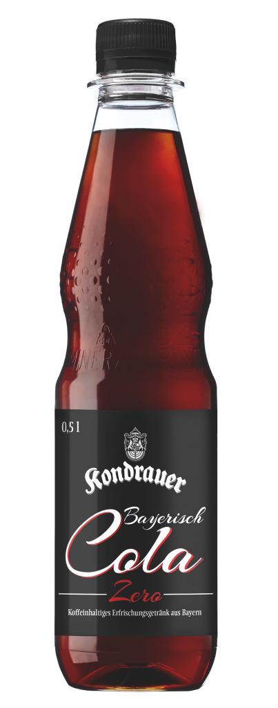 Kondrauer Bayerisch Cola Zero 0,5 l PET