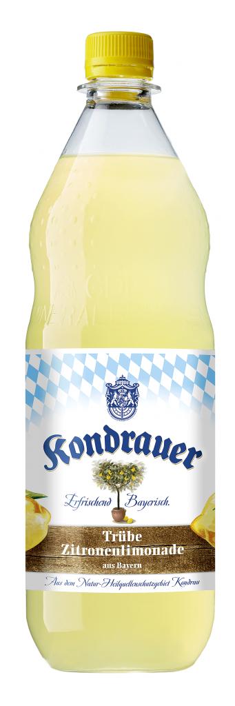 Kondrauer Trübe Zitronenlimonade 1,0 l PET