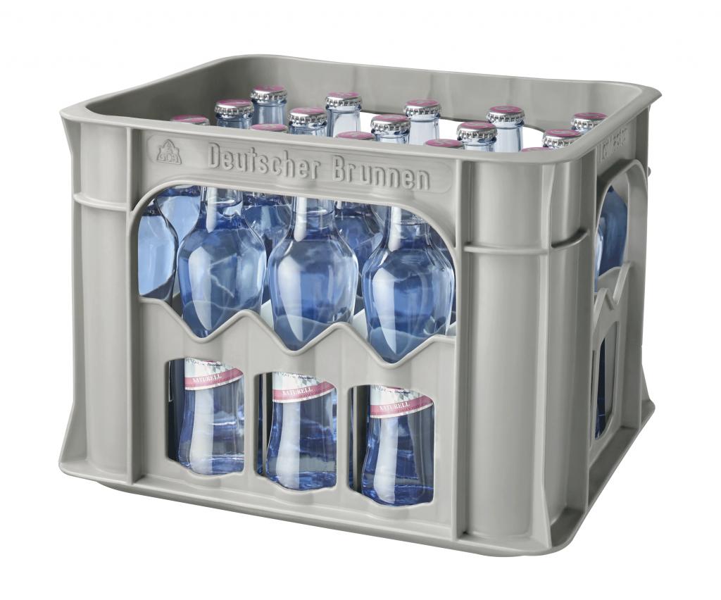 """Mineralwasser """"Naturell"""" 0,25 l Glas (Gastro-Kasten)"""