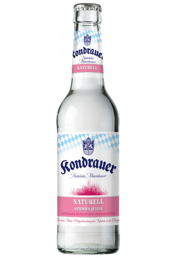"""Mineralwasser """"Naturell"""" 0,33 l Longneck-Mehrwegflasche"""