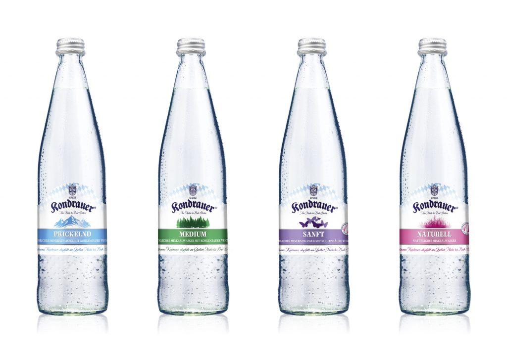 Kondrauer Neues Mehrweg-Glas-Gebinde N2 und neue Etiketten